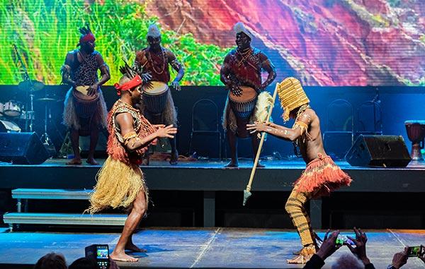 Современная программа шоу-группы Килиманджаро
